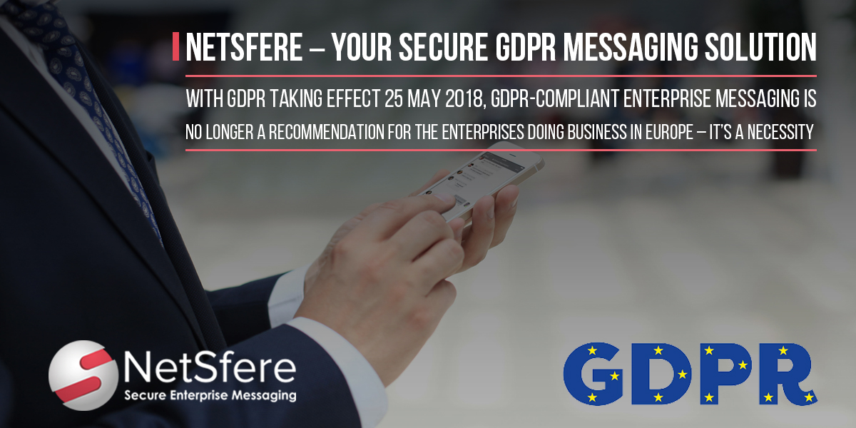 GDPR Compliant Secure Messaging Solution